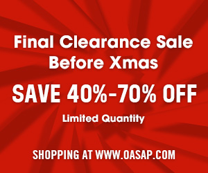 OASAP 40% to 70% Off Clearance