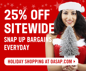 25% OFF Sitewide, Snap up bargains Everyday