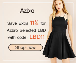 Save Extra 11% Off for Little Black Dress with CODE BLD11.Free Shipping Worldwide with no minimum purchase!