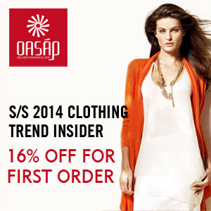 OASAP Spring and Summer Clothing Promotion Start from $3.90Now!