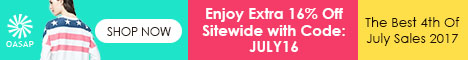 Extra 16% Off for July 4th Sale
