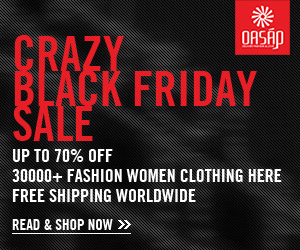 OASAP Crazy Black Friday Sale