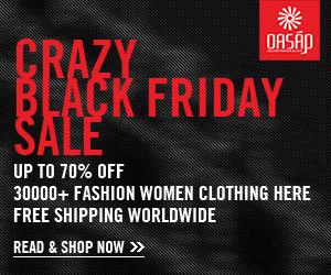 OASAP Crazy Black Friday Sale