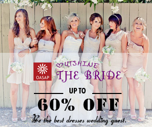 UP TO 60% 0FF + outshine the bride