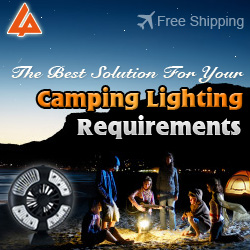 The best solution for your camping lighting requirements