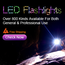 LED Flshlights. Over 800 Kinds Available for Both General&Professional Use