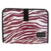 The Tote Buddy - Brandy Wine Zebra