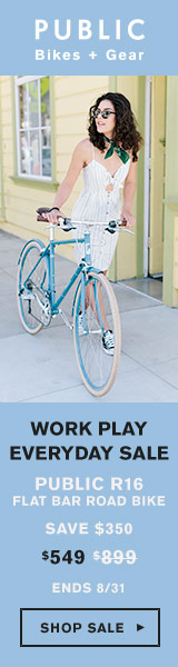 PUBLIC Bikes: Work Play Everyday - Select Bikes on Sale Now!