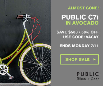 PUBLIC Bikes: Vacation Bound Bike Sale - Up to $550 Off!