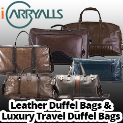 iCarryAlls Leather Duffel Bags