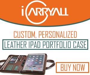 customize leather padfolio