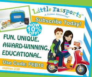 Save 10% on Little Passports