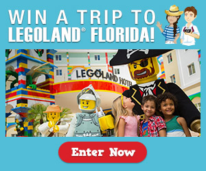 Enter the LEGOLAND® Florida Resort Giveaway. Ends 7/31 US