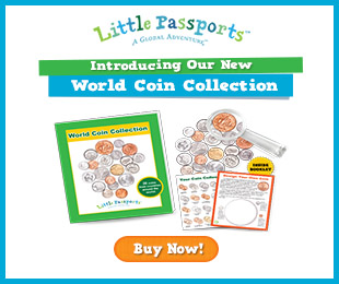 Coins from Around the World Geography Lessons with FREE Printables