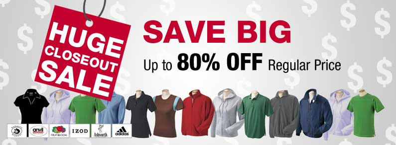 Upto 80% OFF: Apparel Sale and Clearance