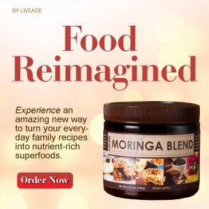 Moringa Blend Source of Live Superfood