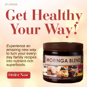 Moringa Blend Source of Live Superfood