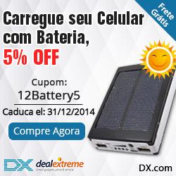 5% de desconto para bateria de celular + frete grátis