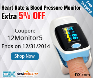 Heart Rate & Blood Pressure Monitor Extra 5% OFF