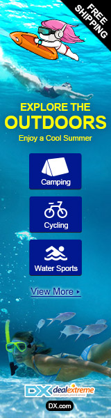 Outdoors Camping, Cycling, Swimming Gadgets from $1.27 Up to 53% OFF