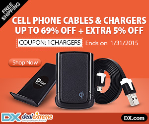 Cell Phone Cables & Chargers Up to 69% OFF + Extra 5% OFF. Coupon: 1Charger5