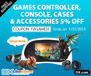 Games Controller, Console, Cases & Accessories 5% OFF. Coupon: 1ViGames5