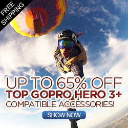 Up to 65% OFF for  Gopro Hero 3+ Accessories