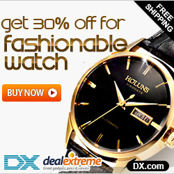 Save 30% OFF For Fashionable Watch + Free Shipping