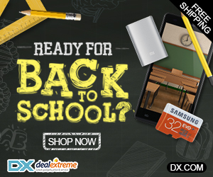 Free Gifts & Coupons Giveaway in Back to School Sale
