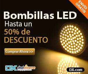 Bombillas LED, hasta un 50% de descuento