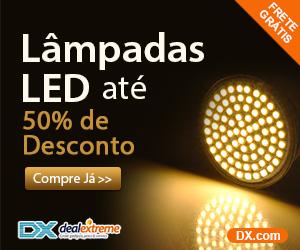 Lâmpadas LED, até 50% de Desconto