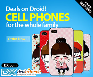 Cell phones 45% OFF, Deals on Droid!