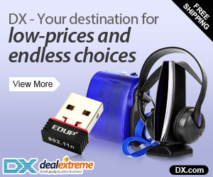 DX - Your destination for low-prices and endless choices