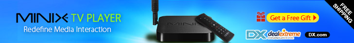 Free 32G Flash Drive + Up to 23% OFF for MINIX NEO TV Box + Free Shipping