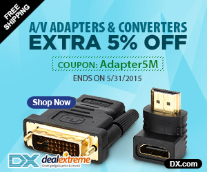 A/V Adapters & Converters Extra 5% OFF. Coupon: Adapter5M