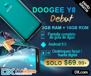 DOOGEE Y8 Quad Core 3GB + 16GB 4G Smartphone @ $69.99 + Free Shipping