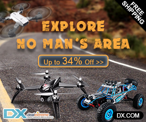 Remote Control Toys Up to 34% Off