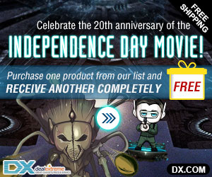 Buy One Get One FREE in Independance Day. One free product per order, the more orders, the more FREE products
