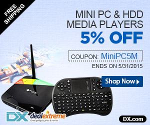 Mini PC & HDD Media Players 5% OFF. Coupon: MiniPC5M