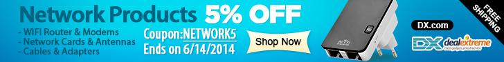 Network Products 5% OFF+Free Shipping