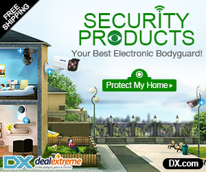 Best Security Products Up to 50% OFF + Free Shipping