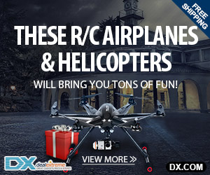 RC Helicopters & Quadcopter Up to 54% OFF