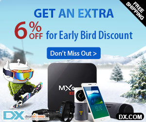 Extra 6% OFF for all