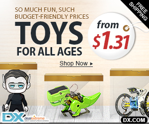 Toys from $1.31 + Free Shipping