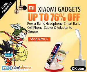 Xiaomi Gadgets- Power Bank, Headphone, Smart Band, Cell Phone, Cables & Adapter Up to 76% OFF.