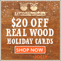 15% off ALL Holiday Cards with Coupon Code STAR2014