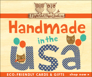 Night Owl Paper Goods Handmade in the USA Eco-friendly Cards & Gifts!
