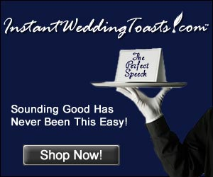 instant wedding toasts