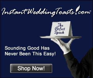 instant wedding toasts