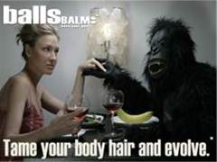 Tame your body hair and evolve with ballsBALM�